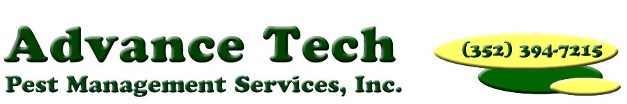 Advance Tech Pest Management Tel: (352)394-7215